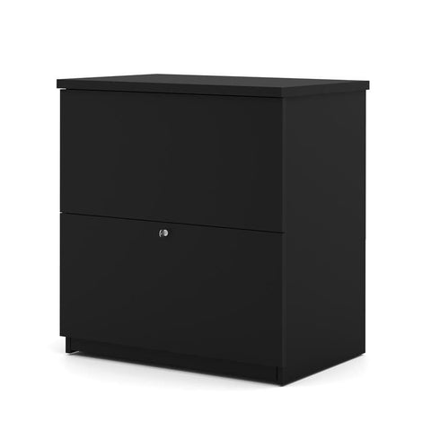 Bestar Standard Lateral File In Black