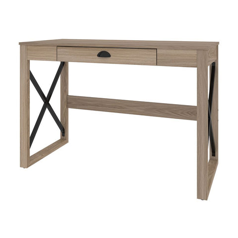 Bestar Talita 45W Small Desk in natural oak