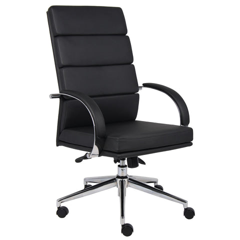 Boss Chairs Boss B9401-BK Caressoftplus Executive Chair