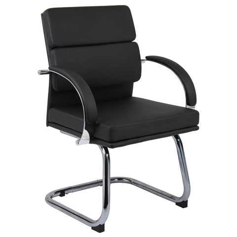 Boss Chairs Boss B9409-BK Caressoftplus Executive Chair