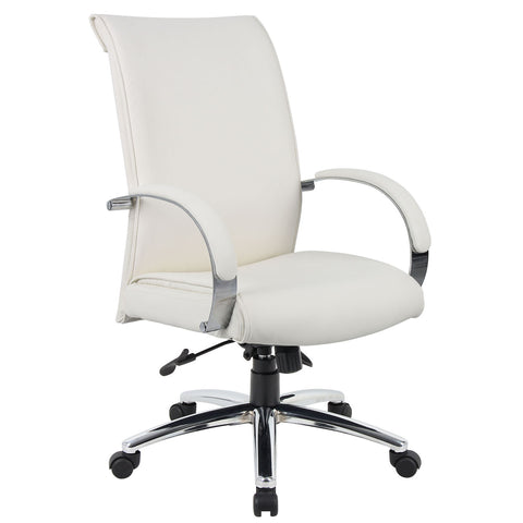 Boss Chairs Boss B9431-WT Caressoftplus Executive Chair