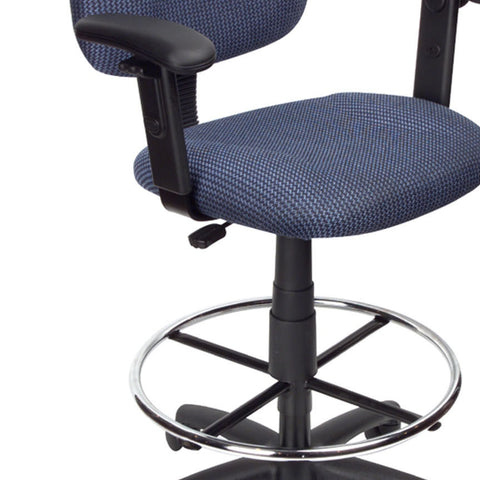 Magnificent Boss Chairs Boss Drafting Stool B315 Be W Footring Adjustable Arms Creativecarmelina Interior Chair Design Creativecarmelinacom