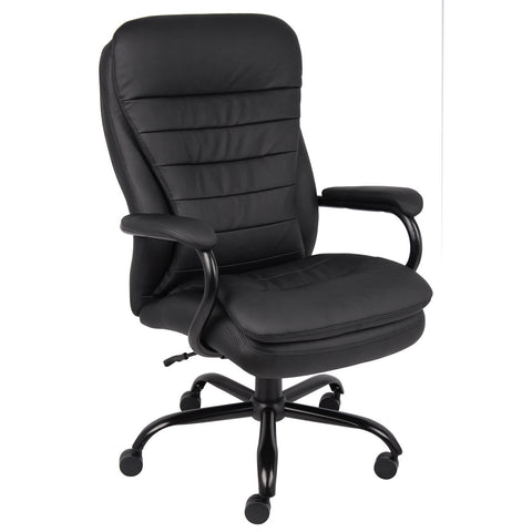 Boss Chairs Boss Heavy Duty Double Plush Caressoftplus Chair