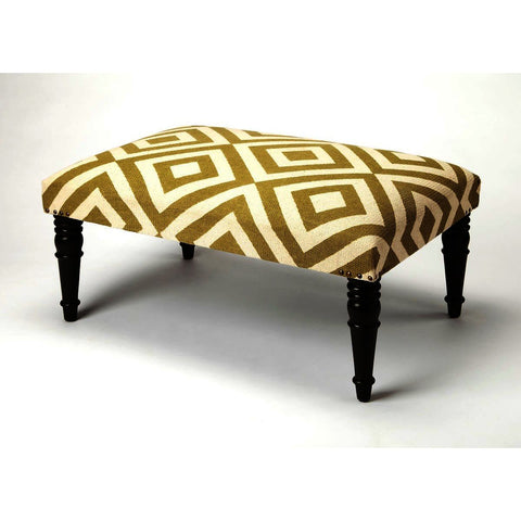 Butler Accent Seating Lucinda Diamond Upholstered Cocktail Ottoman