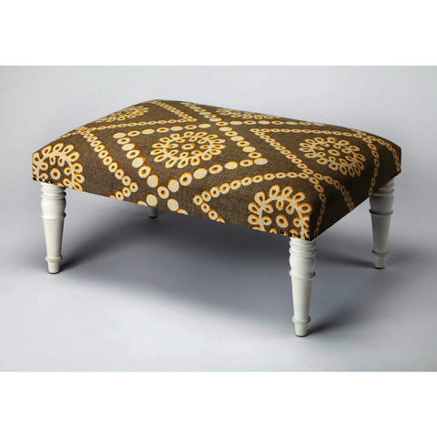Butler Accent Seating Lucinda Upholstered Cocktail Ottoman