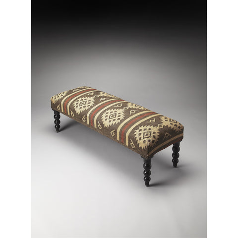Butler Accent Seating Navajo Upholstered Bench