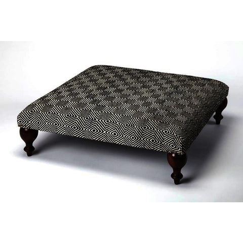 Butler Accent Seating Romulus Upholstered Cocktail Ottoman