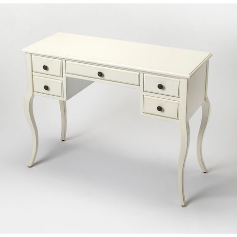 Butler Alicia Cottage White Writing Desk