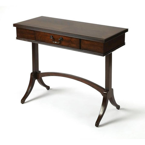 Butler Alta Antique Coffee Writing Desk