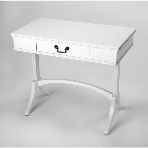 Butler Alta White Writing Desk