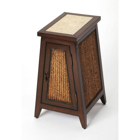 Butler Alvar Small Rustic Chairside Table