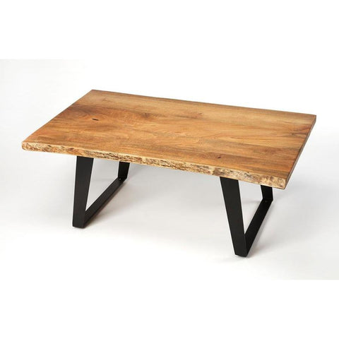 Butler Ambrose Live Edge Rectangular Coffee Table