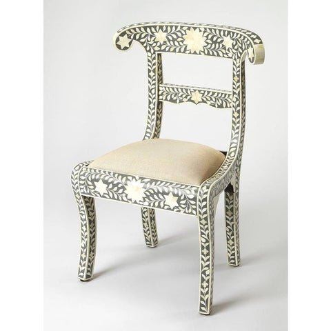 Butler Amelia Gray Bone Inlay Accent Chair