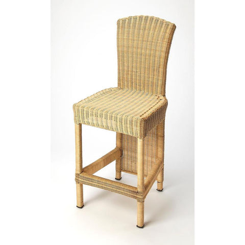 Butler Andros Natural Rattan Counter Stool