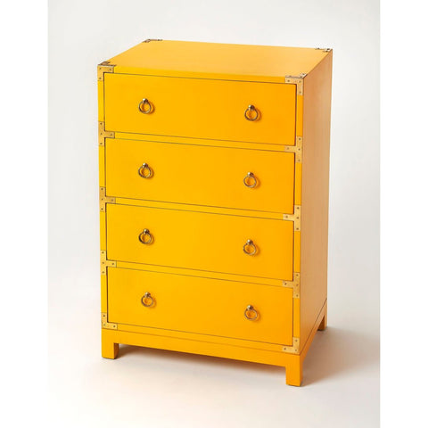 Butler Ardennes Yellow Campaign Accent Chest