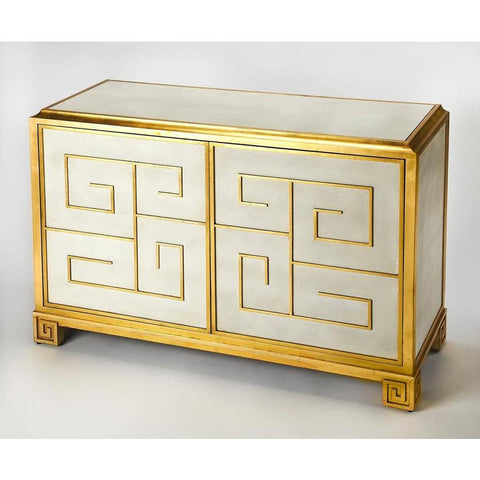 Butler Bello Leather Console Cabinet