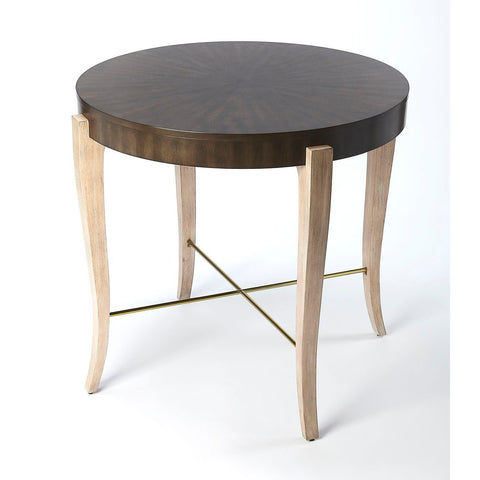 Butler Blanchard Black Coffee Wood Foyer Table