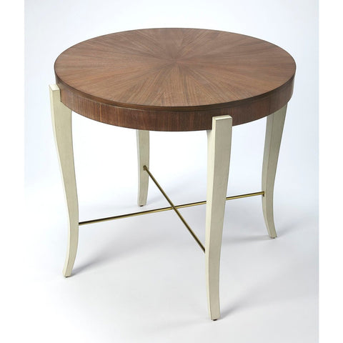 Butler Blanchard Light Cocoa Wood Foyer Table
