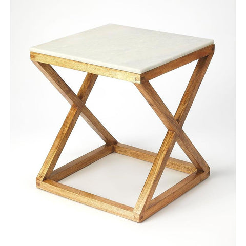 Butler Braylon Marble & Wood End Table