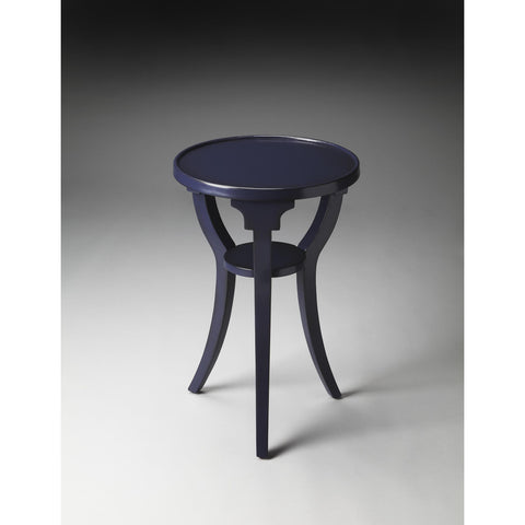 Butler Butler Loft Dalton Round Accent Table In Navy