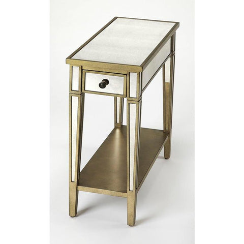 Butler Celeste Mirrored Chairside Table
