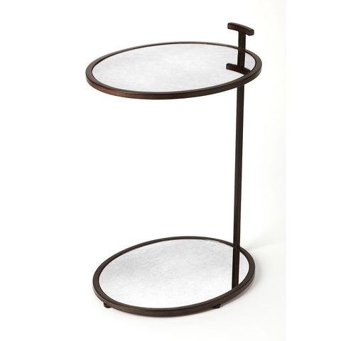 Butler Ciro Mirror & Metal Side Table