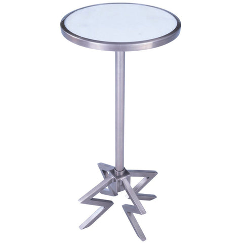 Butler Dash Metal & Marble End Table