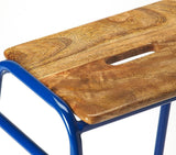 Butler Dawson Blue Counter Stool