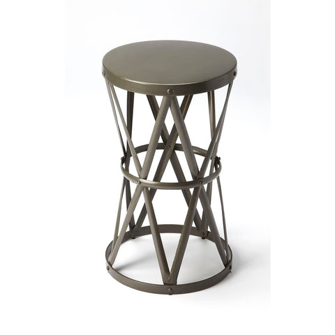 Butler Empire Round Iron Accent Table