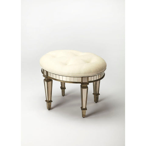 Butler Garbo Mirrored Vanity Stool