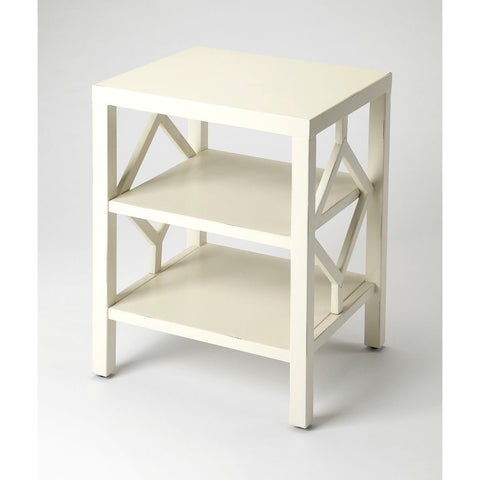 Butler Halcyon White End Table
