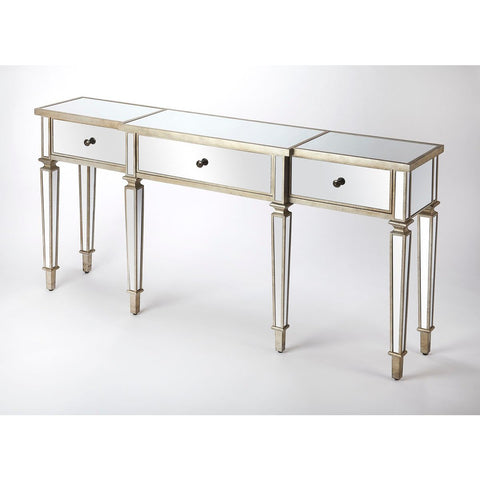 Butler Hayworth Mirrored Console Table