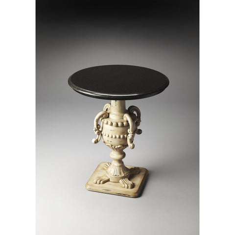 Butler Heritage Basel Foyer Table In Fossil Stone