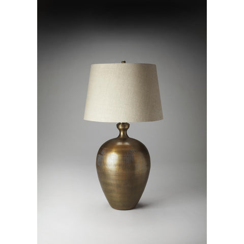 Butler Hors D'Oeuvres Table Lamp In Antique Brass Finish 7135116