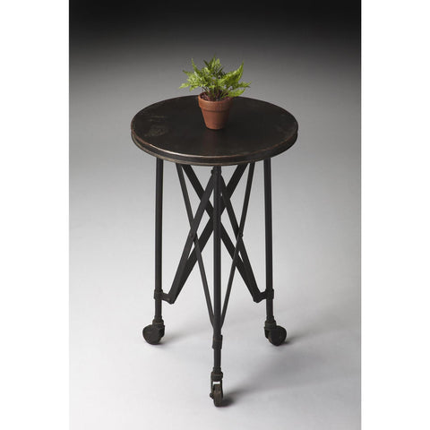Butler Industrial Chic Accent Table In Metalworks 1168025