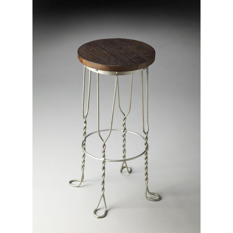 Butler Industrial Chic Bar Stool In Metalworks 2052025