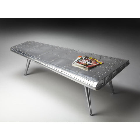 Butler Industrial Chic Cocktail Table In Metalworks 2061025