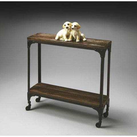 Butler Industrial Chic Console Table In Mountain Lodge 2873120