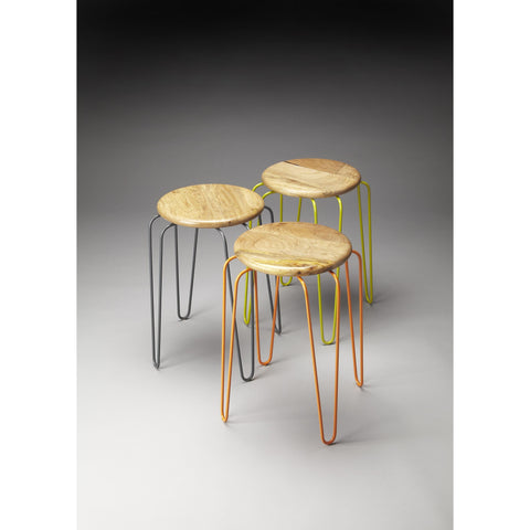 Butler Industrial Chic Easton Stackable Stools