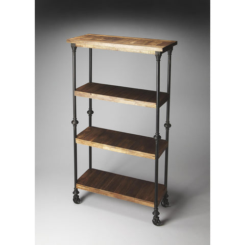 Butler Industrial Chic Fontainebleau Bookcase