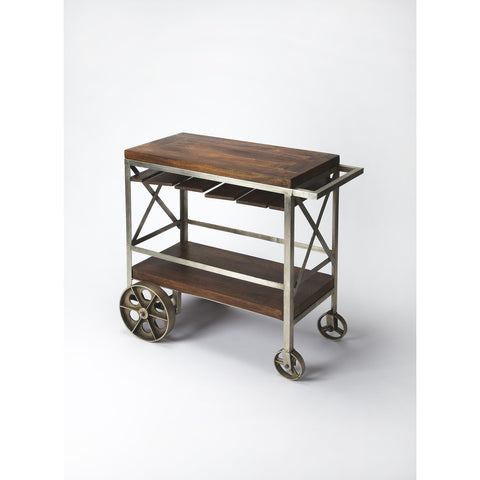 Butler Industrial Chic Trolley Server