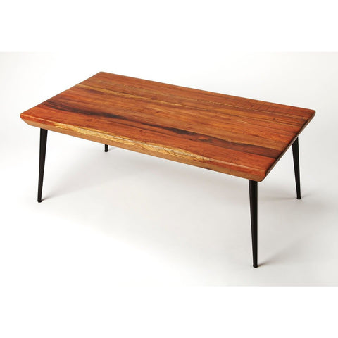 Butler Jurgen Wood & Metal Coffee Table