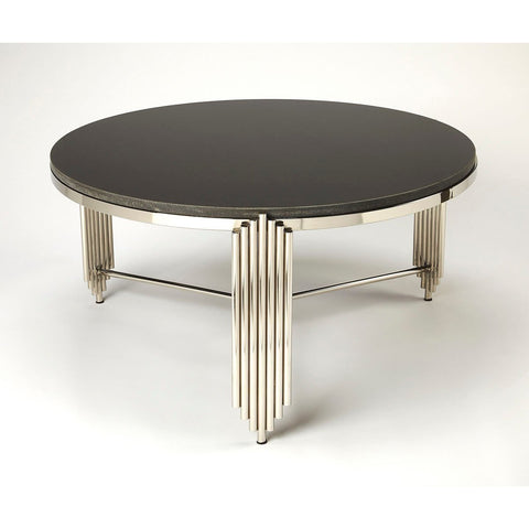 Butler Khalifa Black Granite Coffee Table