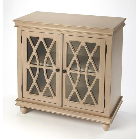 Butler Lansing Natural Wood 2 Door Accent Cabinet