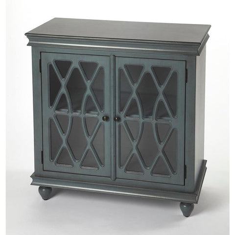Butler Lansing Twilight Blue Accent Cabinet