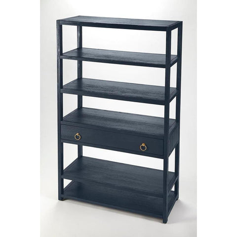Butler Lark Navy Blue Bookshelf