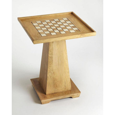Butler Levon Natural Mango Game Table