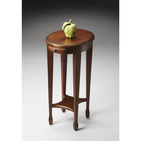 Butler Masterpiece Accent Table In Chestnut Burl