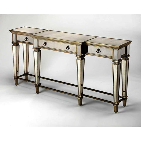 Butler Masterpiece Celeste Mirrored Console Table