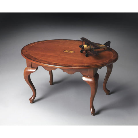 Butler Masterpiece Grace Oval Cocktail Table